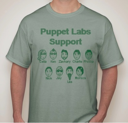 Support_Team_TShirt Puppet Labs
