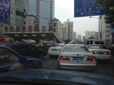 Typical Shanghai traffic
