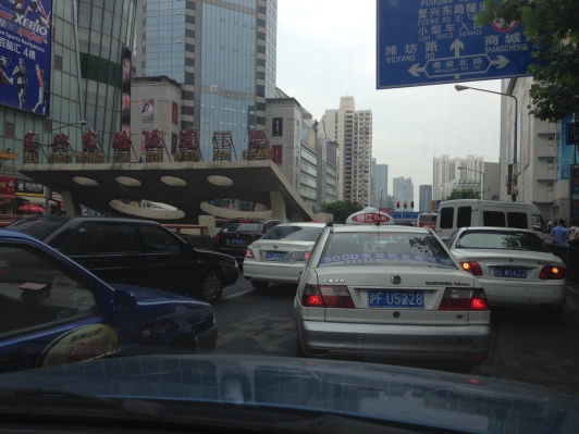 Typical Shanghai traffic