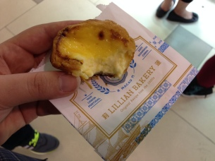 Lillian Bakery egg tarts