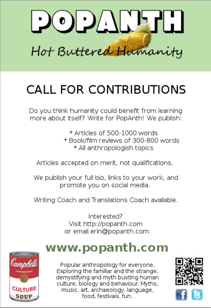 PopAnth Call for Contributions
