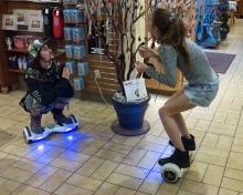hoverboard people