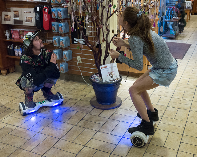 hoverboard people